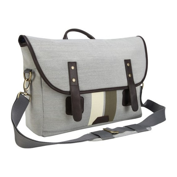 Sacoches Targus Geo Gibson Laptop Messenger Bone