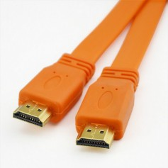 Câbles HDMI Als cable hdmi 1.5m orange