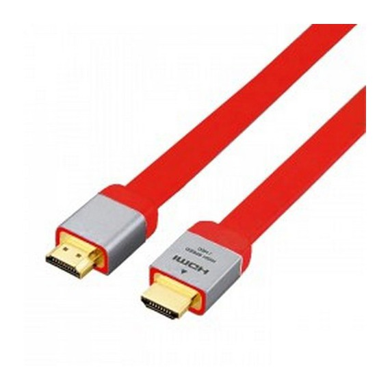 Cables Als cable hdmi resistant rouge
