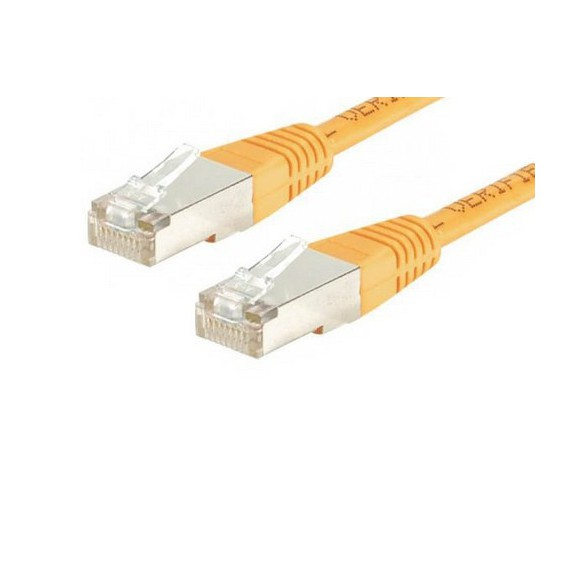 Cables Als cable reseau 5m orange
