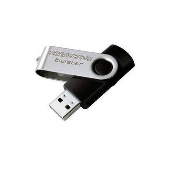 Goodram Clé USB 2.0 Twister noir