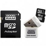 Flash Disque & Carte SD GOODRAM microSDHC 16Go