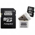 Flash Disque & Carte SD GOODRAM microSDHC 32Go