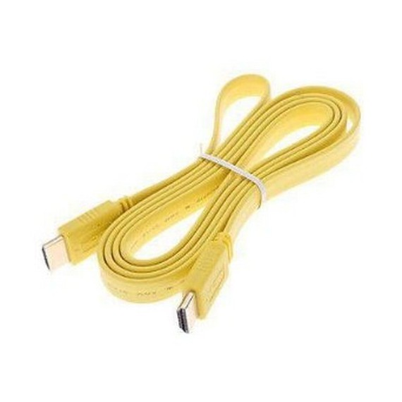 Cables Als cable iphone4 1.5m jaune