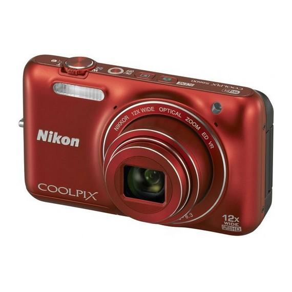 Appareils photo Reflex Nikon COOLPIX S6600 Rouge