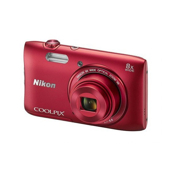 Appareils photo Reflex Nikon COOLPIX S3600 Rouge