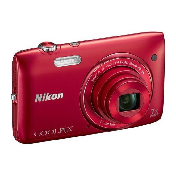 Appareils photo Reflex Nikon COOLPIX S3500 Rouge