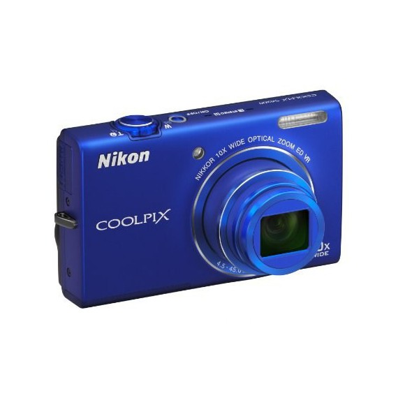 Appareils photo Reflex Nikon COOLPIX S6200 Bleu