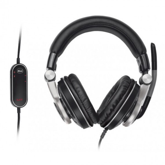 Casque micro Trust 17554 SURROUND USB HEADSET GXT 26 (GAMING) GXT 26 5.1