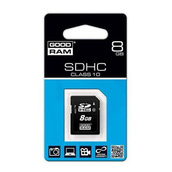 Flash Disque & Carte SD GOODRAM SDHC 8G