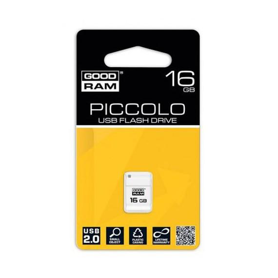 Flash Disque & Carte SD GOODRAM PICCOLO White 16G