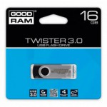 Flash Disque & Carte SD GOODRAM TWISTER BLACK 16G