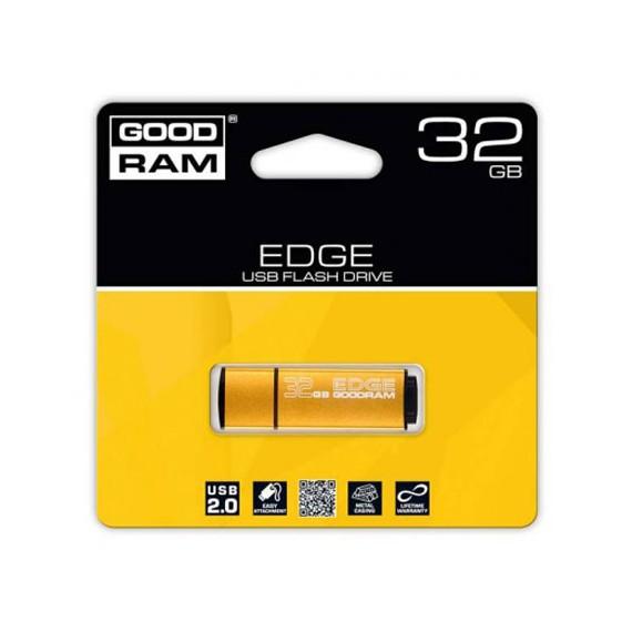 Flash Disque & Carte SD GOODRAM EDGE ORANGE 32G