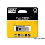 Flash Disque & Carte SD GOODRAM TWISTER BLACK 8G