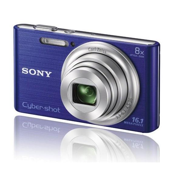 Appareils photo Reflex Sony CyberShot DSC W730 Bleu