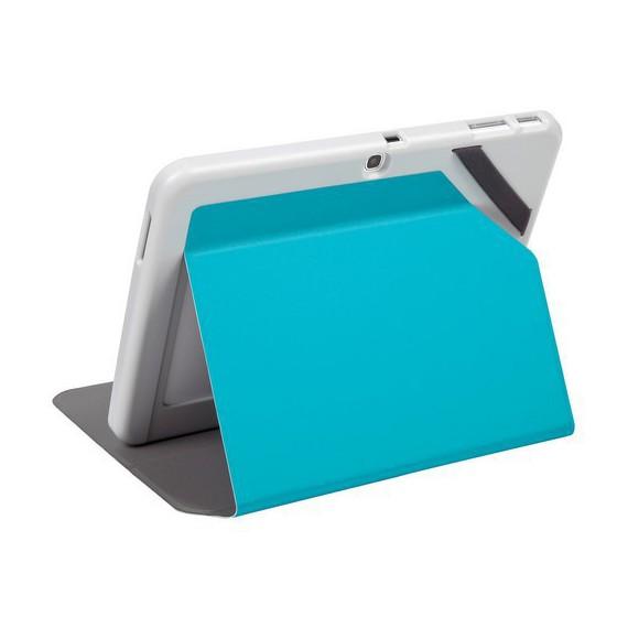 Coque et etui Targus Evervu etui samsung Galaxy Tab4 10 bleu