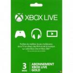 XBOX 1 MICROSOFT XBOX ONE Carte abonnement Xbox Live Gold 3 mois
