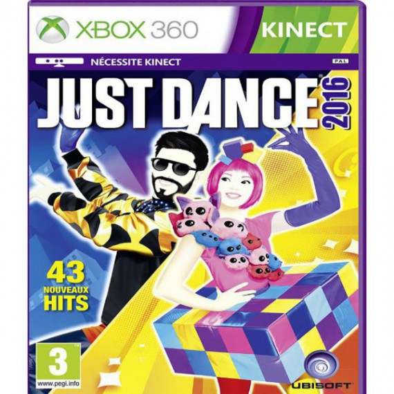 Jeux XBOX 360 MICROSOFT XBOX 360 Just Dance 2016