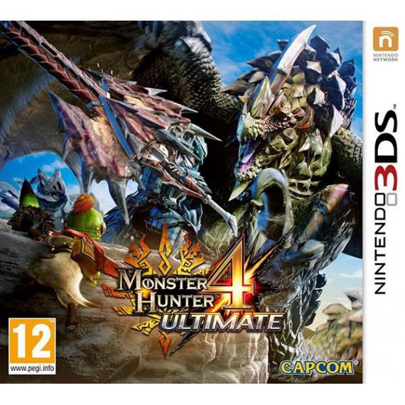 Jeux 3DS NINTENDO 3DS Monster Hunter 4 Ultimate