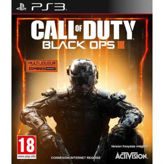 Jeux PS3 Sony PS3 Call of Duty Black Ops III