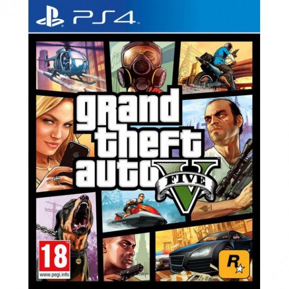 Jeux PS4 Sony Grand Theft Auto 5 ps4
