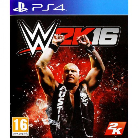 Jeux PS4 Sony WWE 2K16 ps4