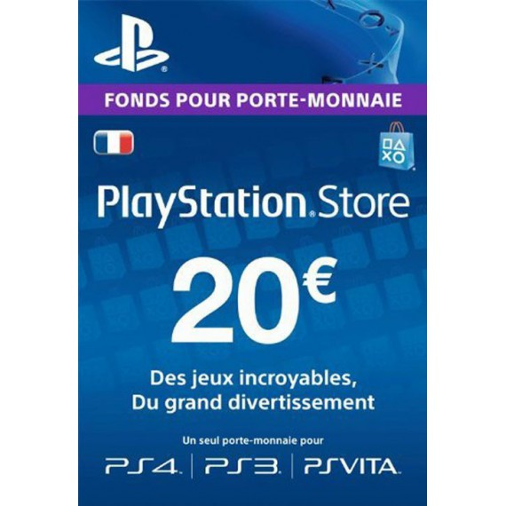 Play Station 3 Sony PS3 Carte PS Store 20