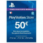 Play Station 3 Sony PS3 Carte PS Store 50
