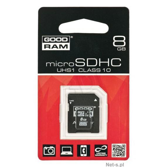 Flash Disque & Carte SD GOODRAM SDU8GHCUHS1AGRR10