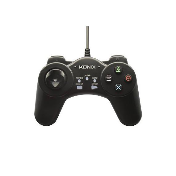 Controller et manette de jeux Konix Manette filaire noire pour PC 61881186717