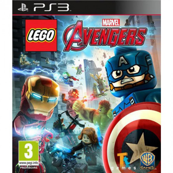 Jeux PS3 Sony PS3 LEGO Marvel Avengers PS3
