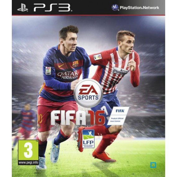 Jeux PS3 Sony PS3 TRAD FIFA 16 PS3