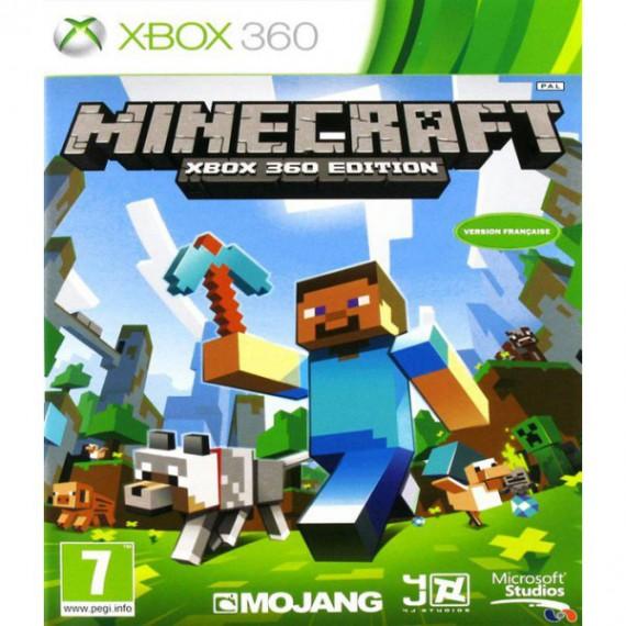 Jeux XBOX 360 MICROSOFT XBOX 360 Minecraft XBOX 360