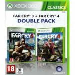 Jeux XBOX 360 MICROSOFT XBOX 360 Far Cry 3 Far Cry 4 Dble Pack Classic