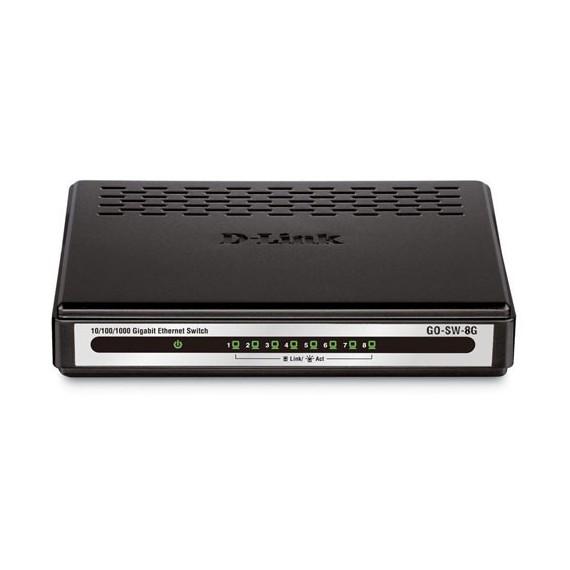 Switcher D-LINK DES 1008A E