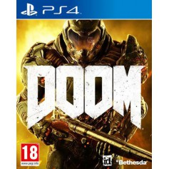 Jeux PS4 Sony PS4 JEU DOOM ps4