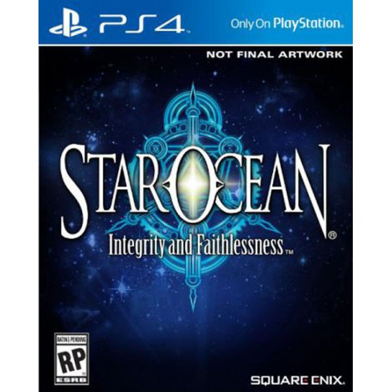 Jeux PS4 Sony Star Ocean Integrity and Faithlessness