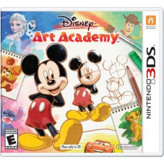 Jeux 3DS NINTENDO Disney Art Academy 3DS