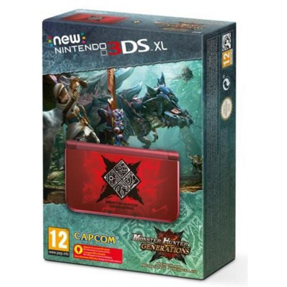 3DS NINTENDO 3DS CONSOLE Pack Monster Hunter