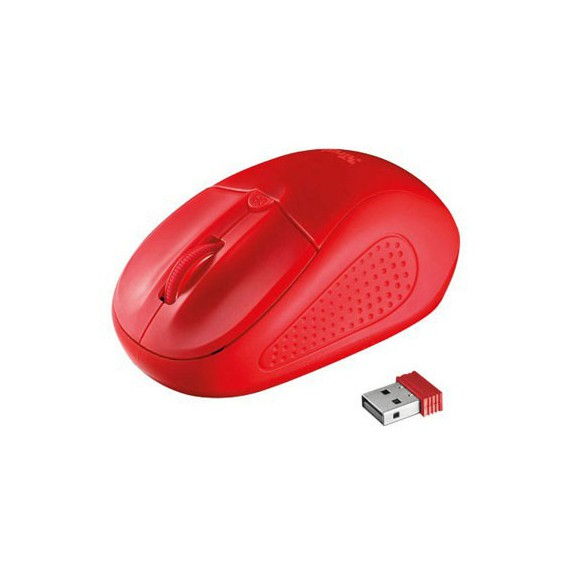 Souris Trust PRIMO WIRELESS MOUSE RED