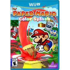 Jeux WII U Nintendo Paper Mario Color Splash
