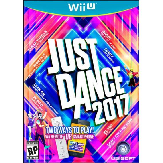 Jeux WII U NINTENDO Just Dance 2017 wii
