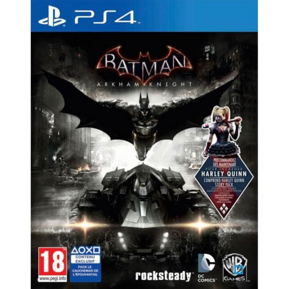 Jeux PS4 Sony JEU Batman PS4
