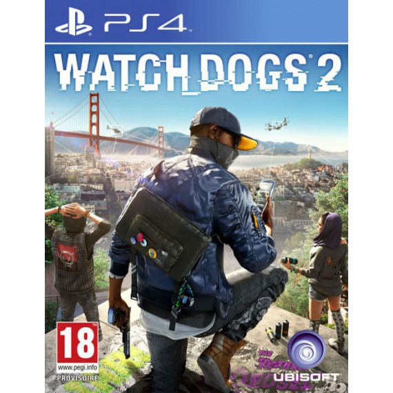 Jeux PS4 Sony Watch_Dogs2 Ps4