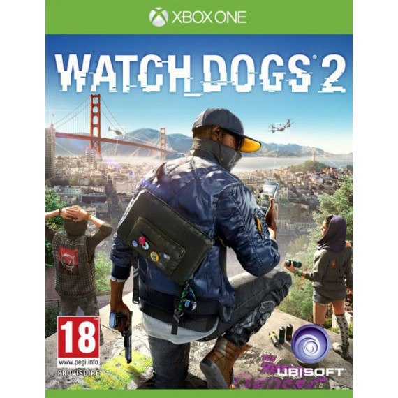 Jeux XBOX ONE MICROSOFT Watch_Dogs2 Xbox one