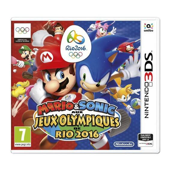 Jeux 3DS NINTENDO Sonic aux JO de Rio2 3DS