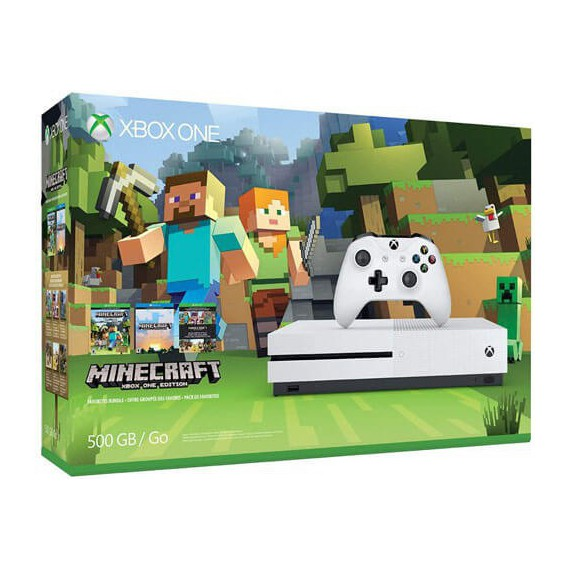 XBOX ONE MICROSOFT console xbox one MINECRAFT