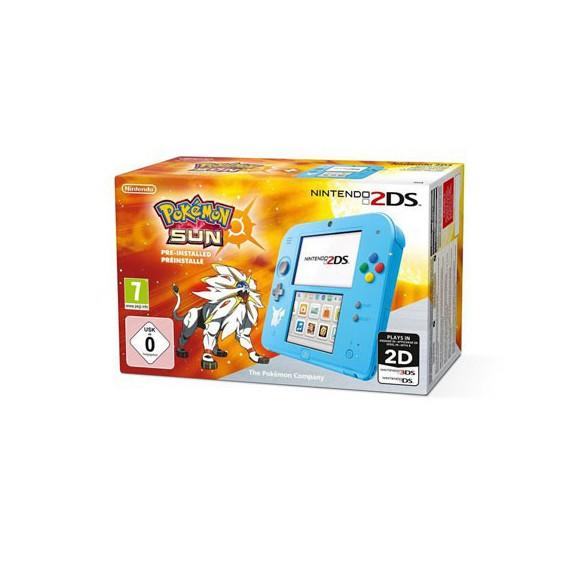 2DS NINTENDO Pack Pokemon Soleil Console 2DS