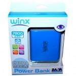 Power Bank WINX LT078 7800MAH BLEU