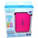 Power Bank WINX LT104 10400MAH PINK